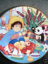Franklin Mint Little Fisherman Panda Bear Boats Rabbit Ltd Ed Plate