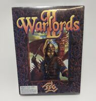 WARLORDS 2 II (SSG 1993) BRAND BEW SEALED Vintage 3.5 Inch Floppy IBM PC Game