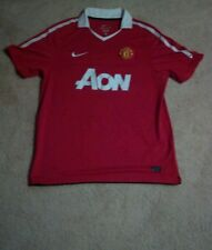 2010/2011 Nike Manchester United Jersey Mens Large