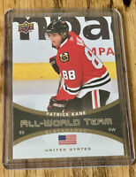 2010-11 Patrick Kane Upper Deck Series 1 All World Team #AW-1 Blackhawks Mint