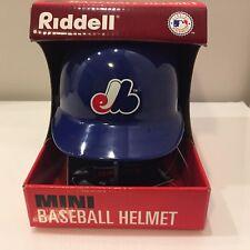 Vintage 1997 Montreal Expos Riddell Mini Helmet w/ Stand New Rare!