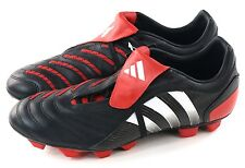 Adidas Mens Predator Pulsion 2 Trx FG Soccer Cleat Black White Red Size 12 US