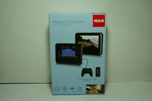 """RCA 7"""" Mobile DVD System with Dual Screens - Open Box  TESTED"""