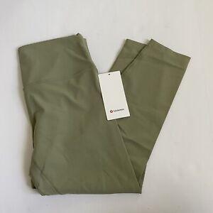 "Lululemon Align Pant 28"" RSMG Rosemary Green size 12 New"
