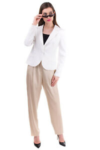 RRP €205 MARIA GRAZIA SEVERI Blazer Jacket Size 44 / M Fully Lined Made in Italy