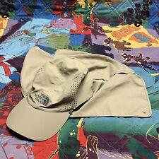 The North Face Safari Shade Strapback Hat Beige Tan Adult L XL Unisex TNF Cap