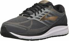 Brooks Men's Addiction 13 Running Shoes, Black/Ebony/Gold, 10 4E(XW) US