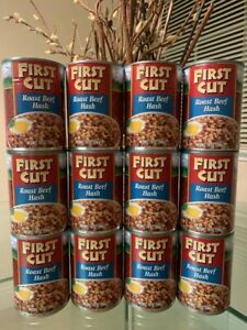 12 Cans- First Cut Roast Beef Hash 14 oz