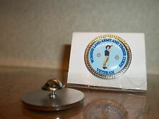 HM Armed Forces Women's Land Army and Timber corps Veteran lapel pin badge .