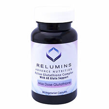 3 Bottles Relumins Advance White Active Glutathione Complex w/ 6x Boosters - NEW