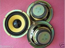 "2pcs 3"" inch Full-range speaker Yellow pots black hat 4 ohms 5 watts"