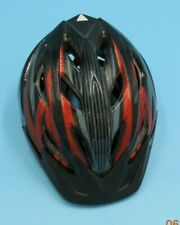 Safety Bicycle Adjustable Helmet Road Large red and black Cycling Sports Helmet.