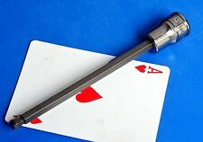 """Snap-on tools 3/8"""" drive SAE 1/4"""" Long Style 5"""" Ball Hex Driver socket NEW 2016"""