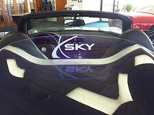 Saturn Sky Wind Restrictor Deflector Etched Logo Illumination Lifetime Warranty