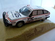 voiture 1/43 norev Dakar  : CITROËN CX 2400 GTI J.ICKX / C.Brasseur 1981 #125
