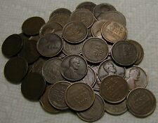 2 ROLLS OF 1909 P PHILADELPHIA LINCOLN WHEAT CENTS FROM PENNY COLLECTION