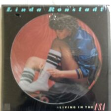"""Linda Ronstadt, Living in the USA, Picture LP 12"""", 1978 Vinyl, USA, M/M"""