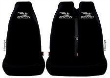 Seat Covers fit VAUXHALL VIVARO VAN Front Single & Twin Seats - Top Quality!!