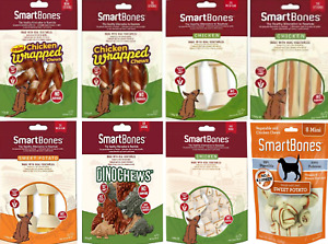 SmartBones Dog Chews Bones 100% Real Chicken/Vegetables/Sweet Potato NO RAWHIDE