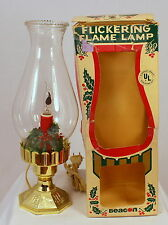 Beacon Christmas Flickering Flame Lamp in box beautiful and working model no. 16