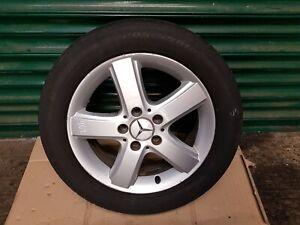 "Mercedes A B Class W169 W245 16"" inch Alloy Wheel With Tyre 205 55 R16 ref462"