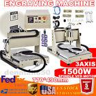 USB 3Axis CNC Router Kit 6040 1500W VFD 3D Milling Machine 24000rpm For Wood/PVC