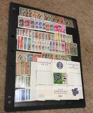 Paraguay 1934-1966 MNH Mint Lot SCV $238