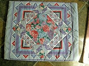 Handmade Quilted Pillow Slip Cover Amish Country (YOU CHOOSE STYLE)