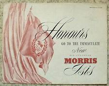 Morris Isis car sales brochure mars 1955 #H & e 5479