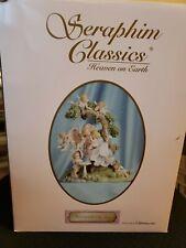 Seraphim Classics Surrounded by Joy Golden Wings Exclusive Angel Cherubs