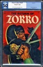 The Return Of Zorro-Four Color #425-PGX 5.0 VG/F-1952 Dell Golden Age Classic