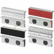 Serie da 4 coppie di copriganasce in alluminio morsa da 125mm FERVI 0520/125S