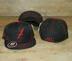 Columbus Red Birds Minor League Baseball Stall & Dean Fitted Hat Cap Size 7 5/8