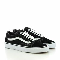 Femmes Vans Old Skool Skate Noir Original Chaussures Shoes Classic canvas suede