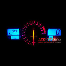 Suzuki GSR 600 BJ 06-12 Tachobeleuchtung  Tacho Umbau SMD LED Set ROT LED-Team