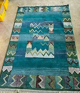 Modern turquoise rug BRIGHT LIGHTS RUG COLLECTION