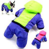 Waterproof Dog Jumpsuit Winter Clothes Reflective Small Medium Dogs Jacket Coat