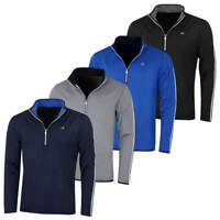 Calvin Klein Golf Mens 2019 1/2 Zip Performance Lightweight Sweater 50% OFF RRP