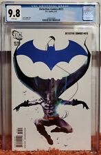 Detective Comics #873 (2011, DC) CGC 9.8 NM/MT Black Mirror Snyder Jock Batman