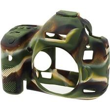 EasyCover Silicone Skin Soft Case Canon EOS 5D Mark 2 II in Camouflage UK Stock