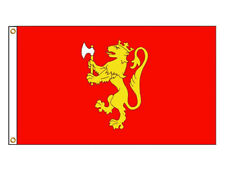 3x5 Norway Royal Standard Crown Ensign Flag 3'x5' Norwegian Coat of Arms Kingdom