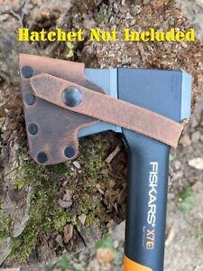 Fiskars X7 Hatchet Buffalo Leather Sheath Mask (Axe NOT Included)