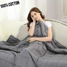 Weighted Sensory Cure Blanket Insomnia Anxiety 10lbs 15lbs 20lbs  Sleep