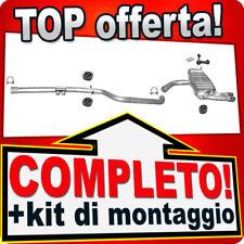 Scarico Completo SEAT LEON (1P1) / SEAT ALTEA 2.0 TDi 136/140CV Marmitta A97