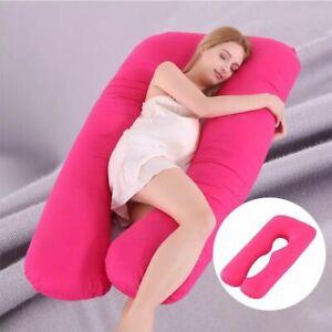 UK Comfort U Shaped Maternity Pregnancy Pillow Nursing Feeding Body Pillows