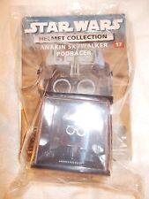 Star Wars Helmet Collection #17 Anakin Sjywalker Podracing