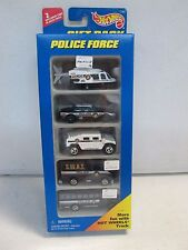 Hot Wheels 5 Car Gift Pack Police Force w SWAT