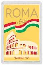 ROME ITALY FRIDGE MAGNET SOUVENIR MOD. 9 - ROMA ITALIA IMAN NEVERA