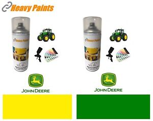 John Deere Tractor Green & Yellow Paint Endurance Enamel Paint 400ml Aerosols