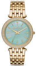 Michael Kors MK3498 Darci MOP Dial Gold Tone Stainless Steel Women's Watch